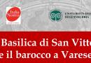 """29 Marzo- Conferenza """"La basilica di San Vittore e il barocco a Varese"""""""