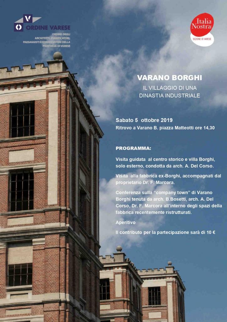 Locandina Visita Varano Borghi