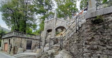 Inaugurazione della Scalea del Sommaruga a S. Maria del Monte