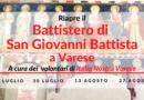 Riapertura del Battistero di San Giovanni Battista a Varese