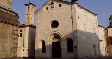 Nuove aperture battistero di San Giovanni Battista di Varese